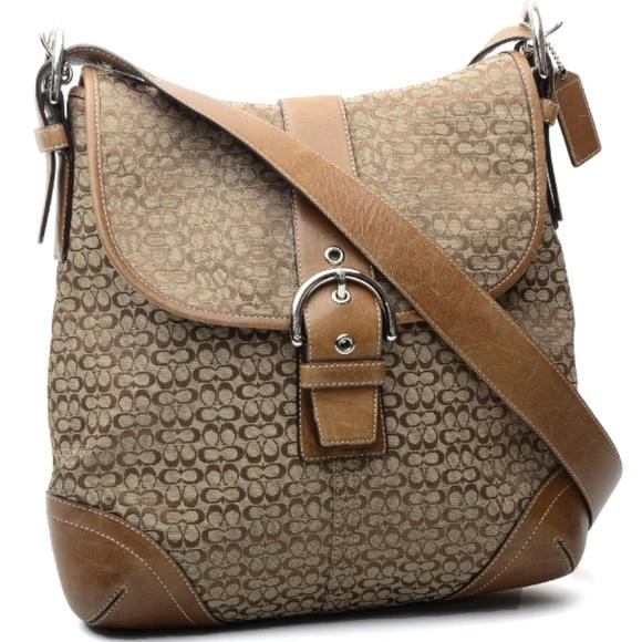 d154f25cc6f3 Coach Handbags - Coach Signature Jacquard Crossbody Bag 6376